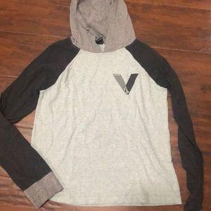 Boys long sleeve t shirt with hood